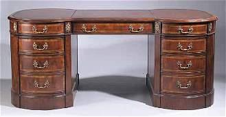 RegencyStyle Mahogany Desk