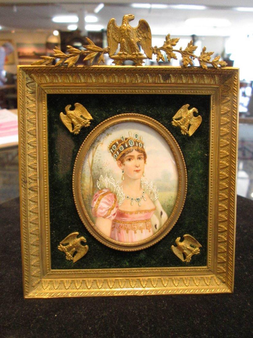 Four Napoleonic Portrait Miniatures - 3