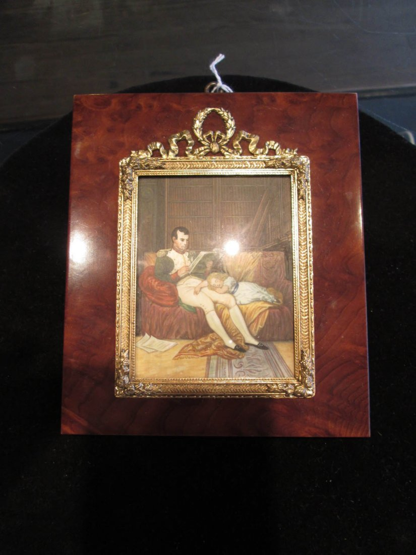 Four Napoleonic Portrait Miniatures - 4