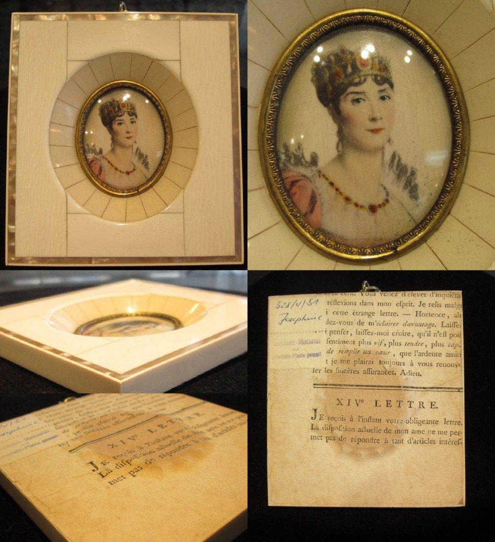 Four Napoleonic Portrait Miniatures - 6