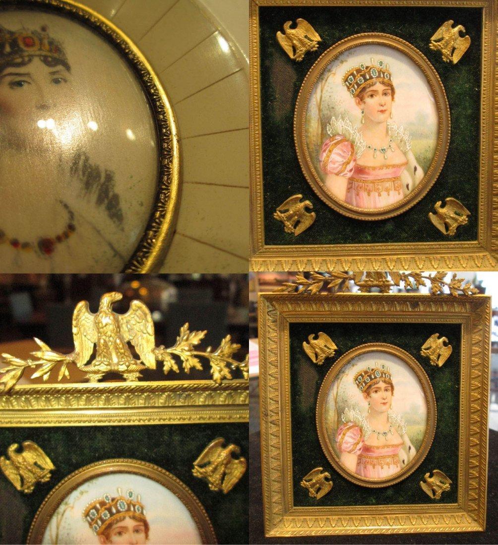 Four Napoleonic Portrait Miniatures - 7
