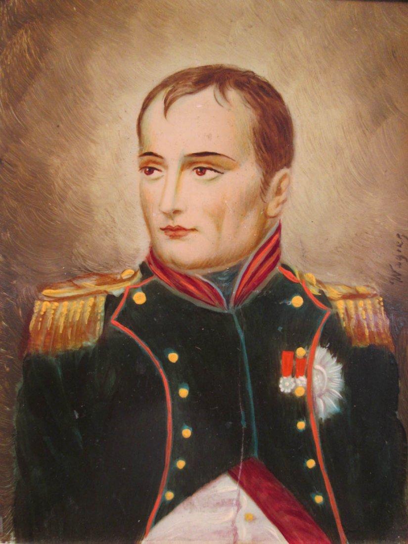 Five Portrait Miniatures of Napoleon in Uniform - 3