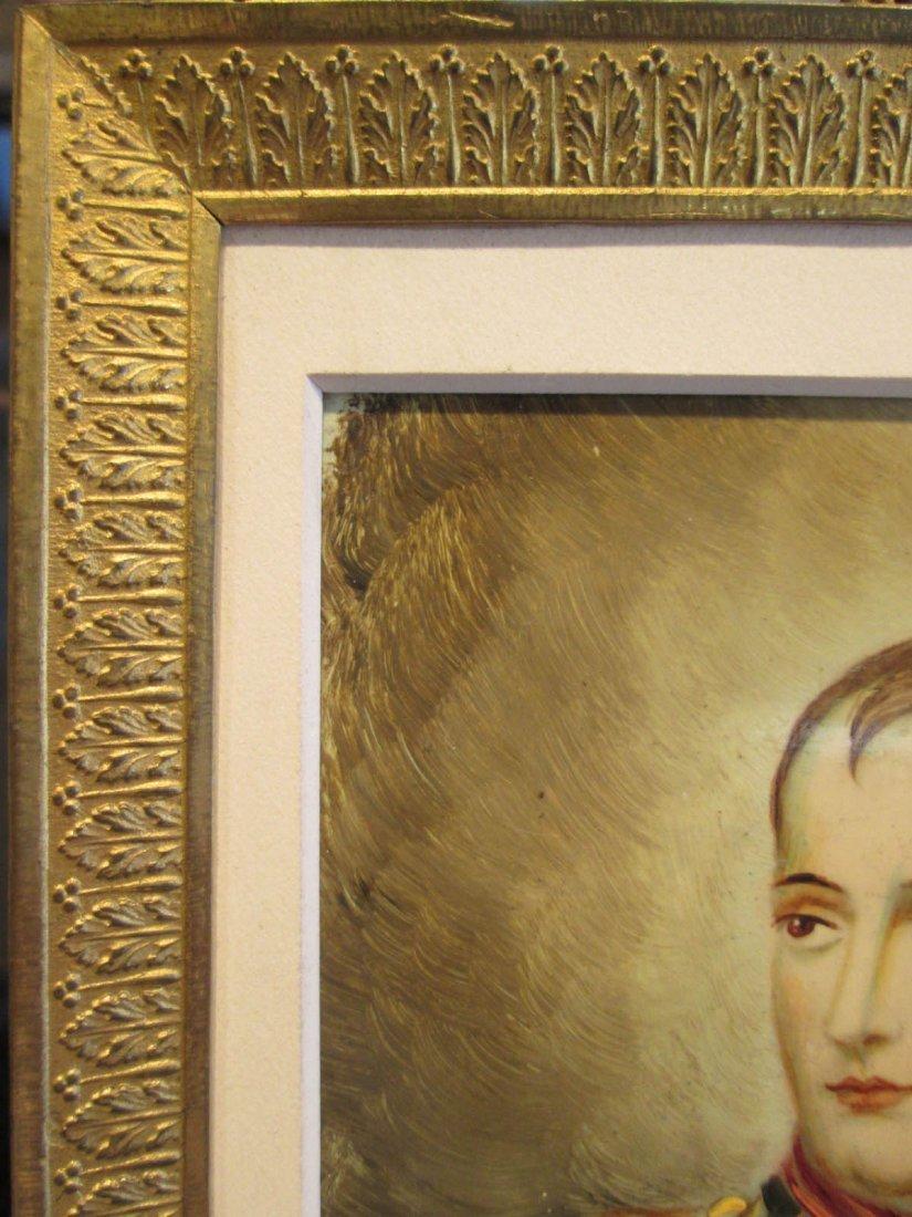 Five Portrait Miniatures of Napoleon in Uniform - 4