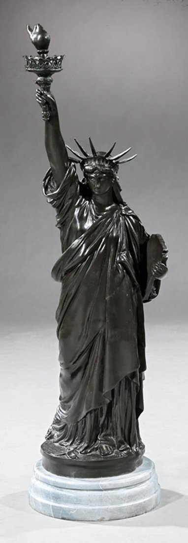 "Bronze Figure of the ""Statue of Liberty"""