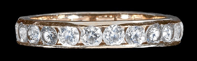 14 kt. Yellow Gold and Diamond Eternity Ring