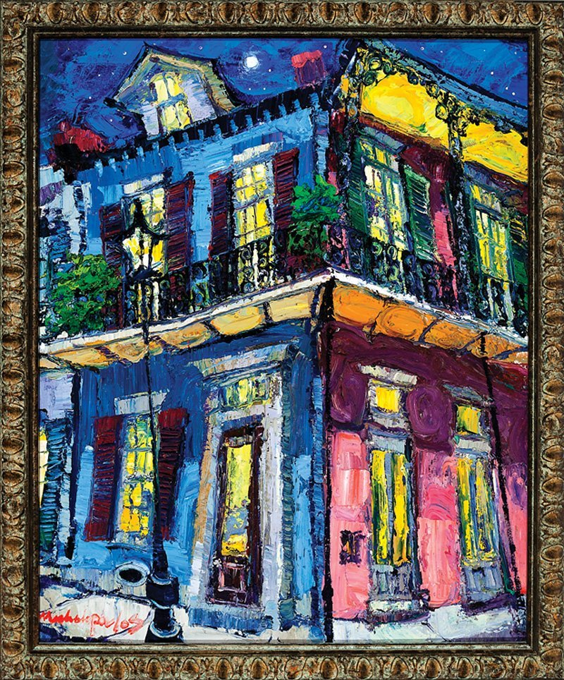 James Michalopoulos (American/New Orleans, b. 1951)