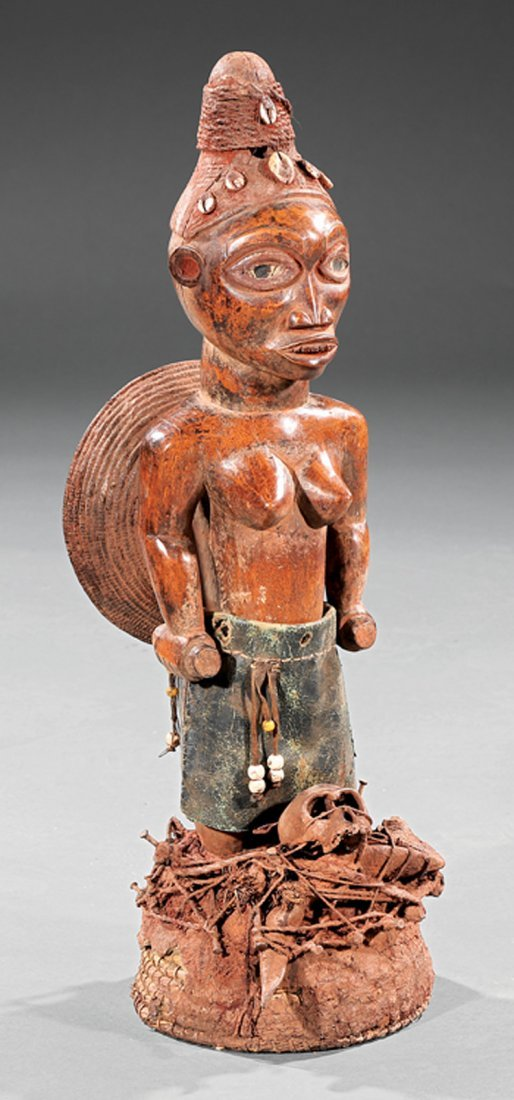 "African ""Nail Fetish"" Power Figure"