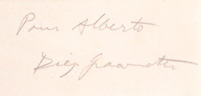Alberto Giacometti (Swiss, 1901-1966) - 2