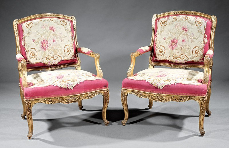 Louis XV-Style Carved and Gilt Salon Suite - 2