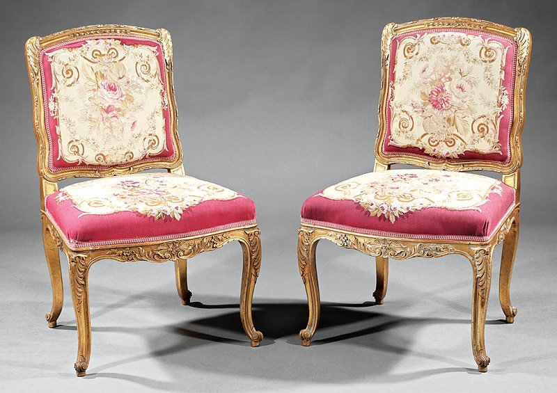 Louis XV-Style Carved and Gilt Salon Suite - 3