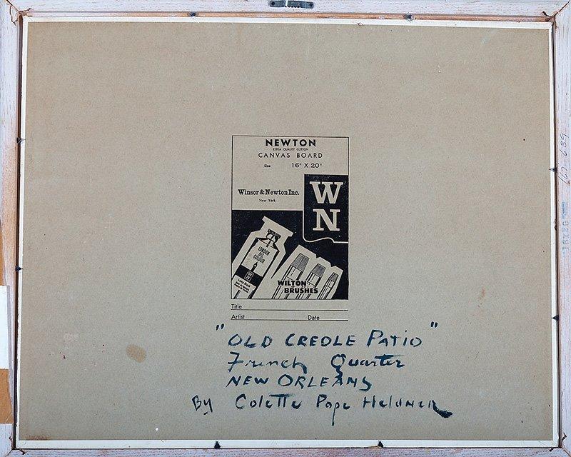 Colette Pope Heldner (American/New Orleans, 1902) - 5