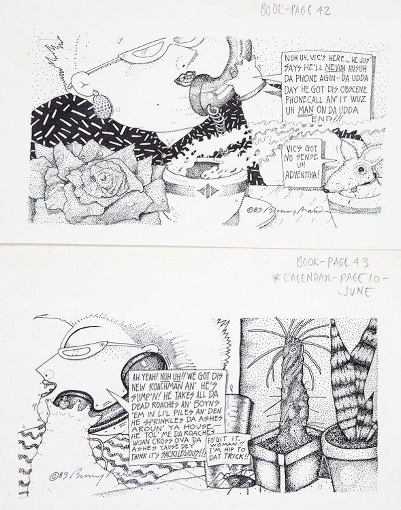 Bunny Matthews (American/New Orleans, 20th c.) - 2
