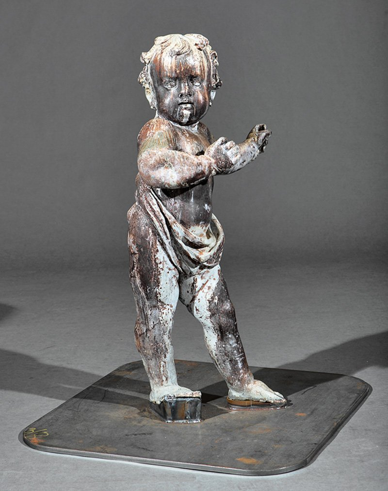 Lead Figure of Putto