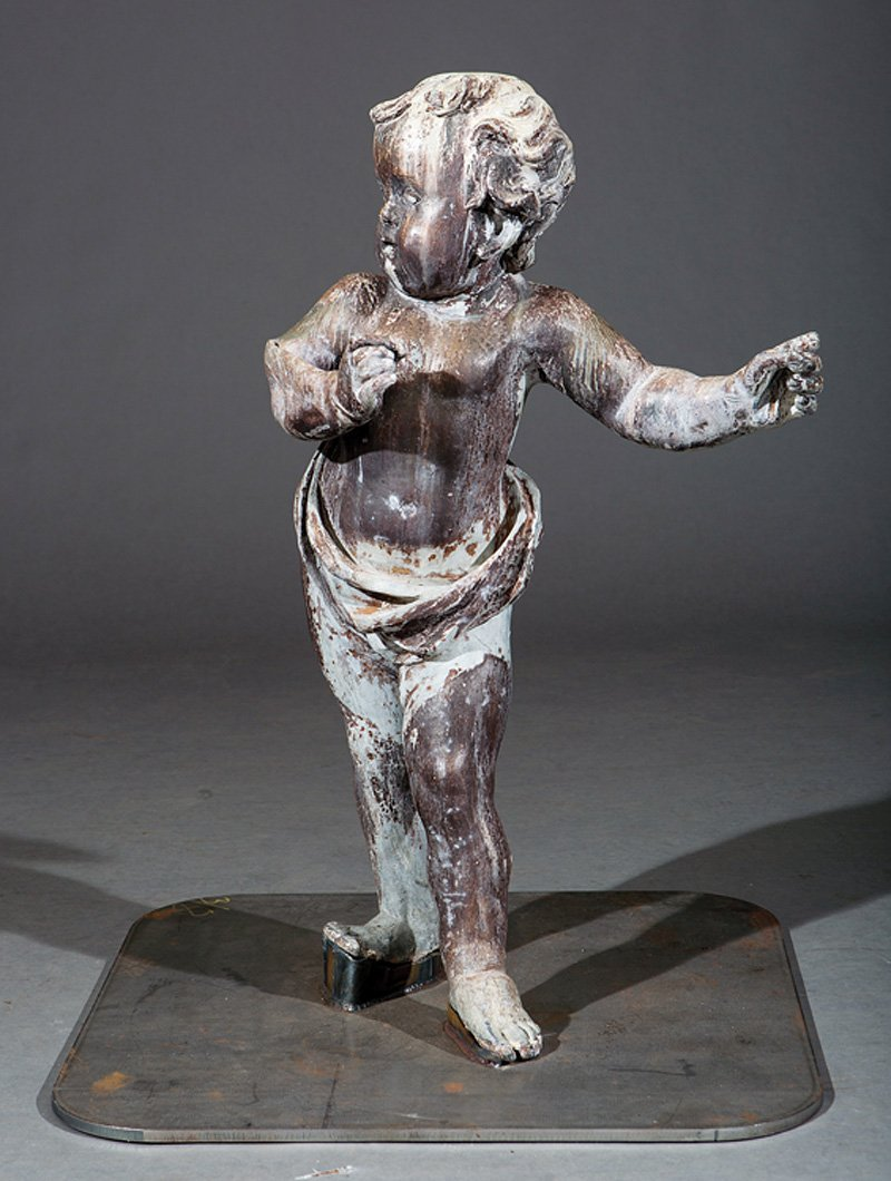 Lead Figure of Putto - 2
