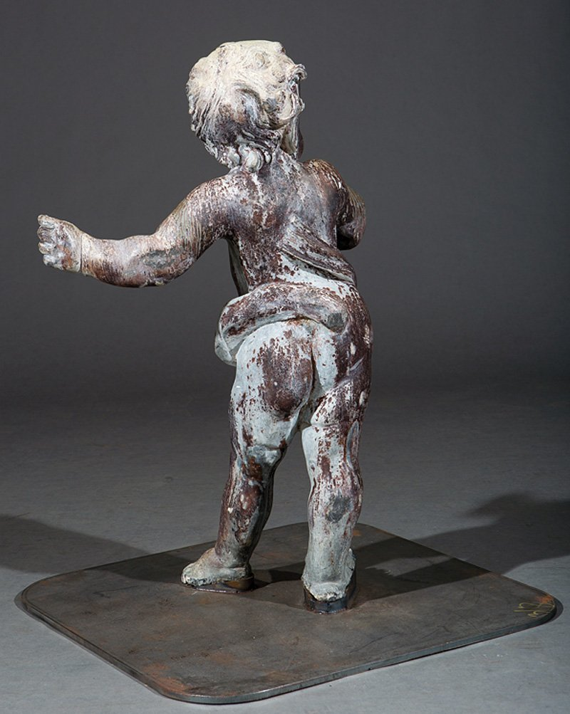 Lead Figure of Putto - 3