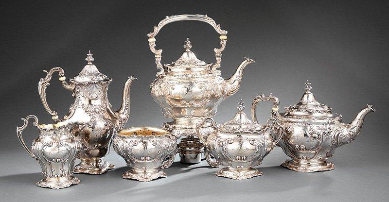 Gorham Sterling Silver Coffee & Tea Service