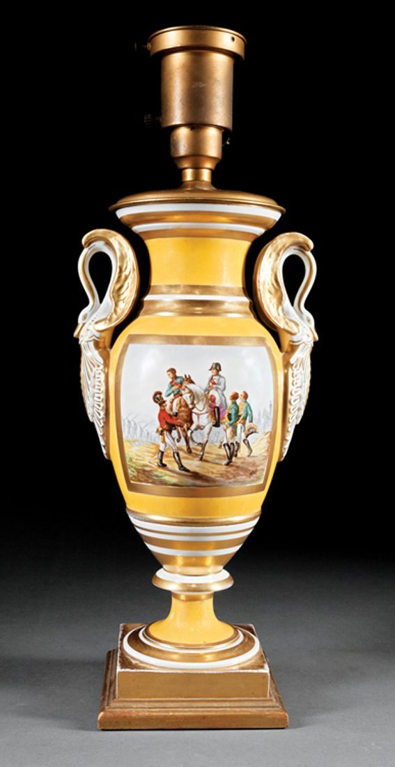 Pair of Paris Porcelain Vases - 2