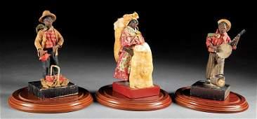 Three Francisco Vargas Figures