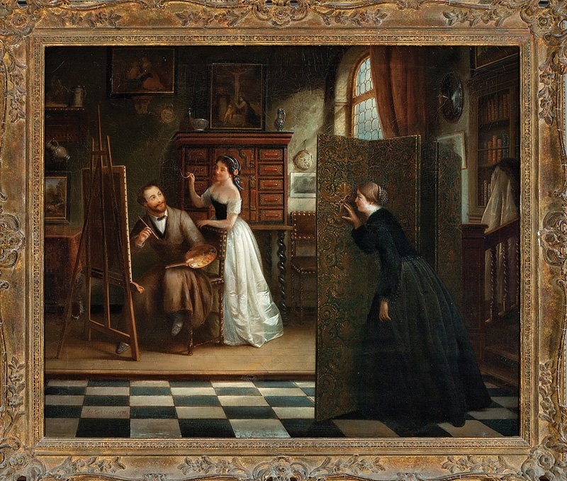 Josef Cornelius Correns (Flemish, 1814-1907)