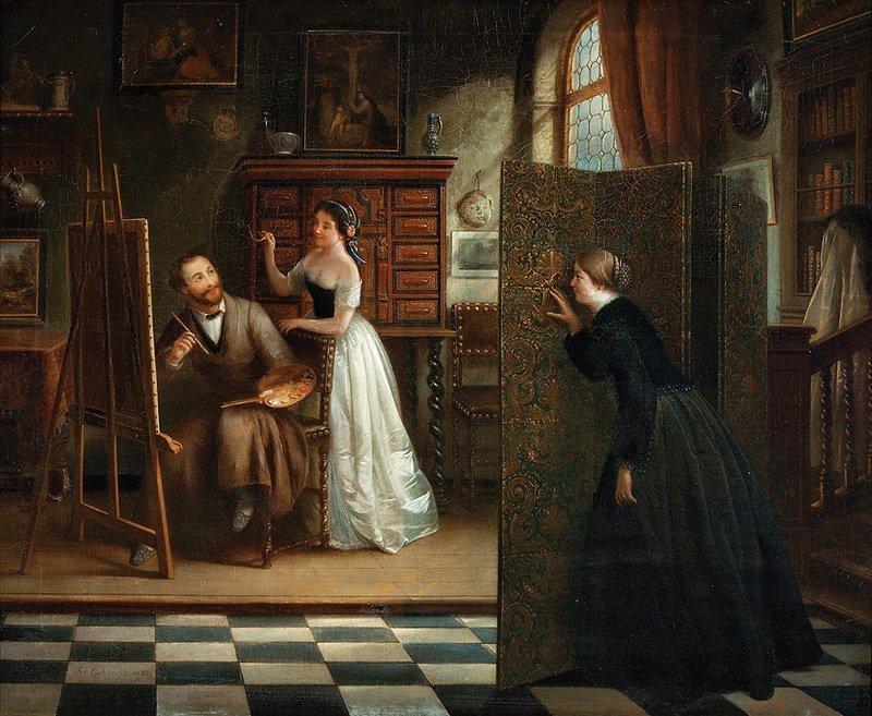 Josef Cornelius Correns (Flemish, 1814-1907) - 2