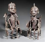 Two African Bronze Figures