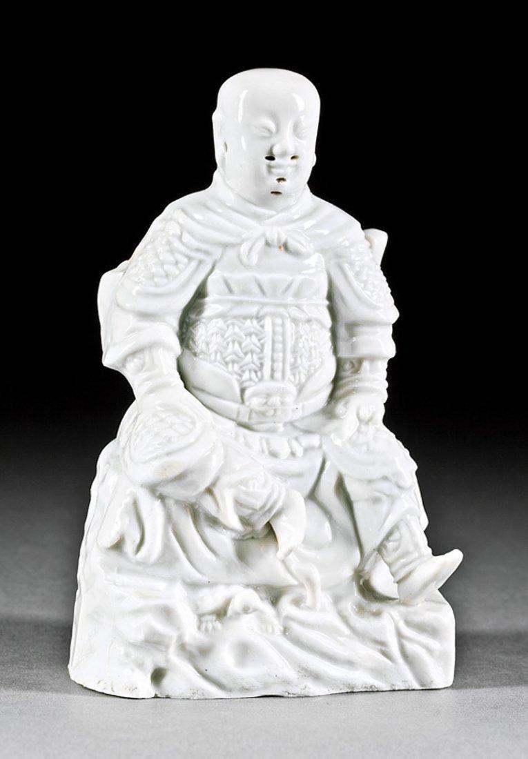 "Chinese ""Blanc de Chine"" Porcelain of Zhenwu"