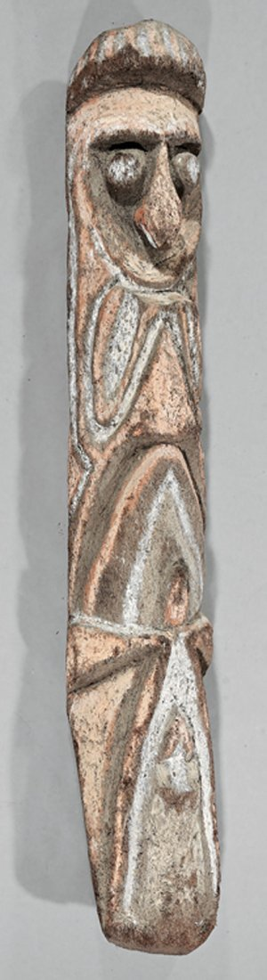 Oceanic Carved Fernwood Grade-Society Figure