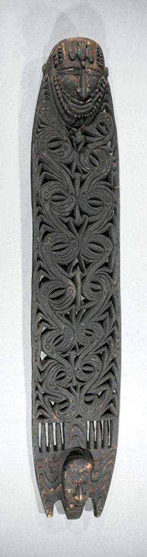 Oceanic Carved Wood Malu Board