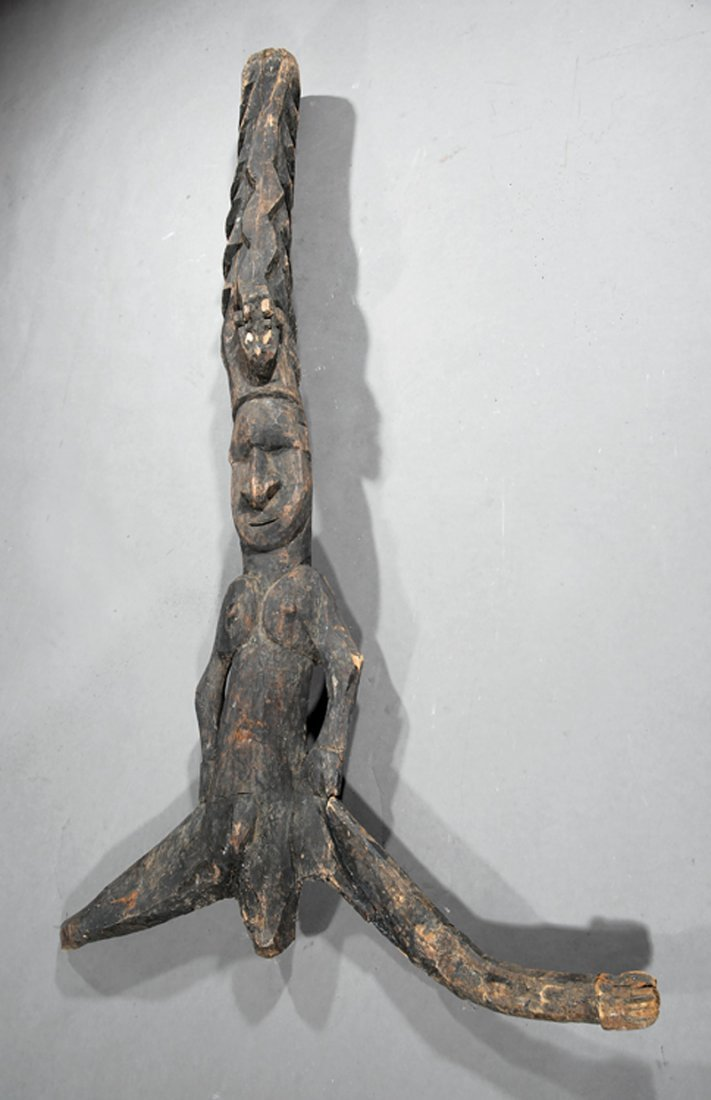 Oceanic Wood Architectural Fragment/House Post