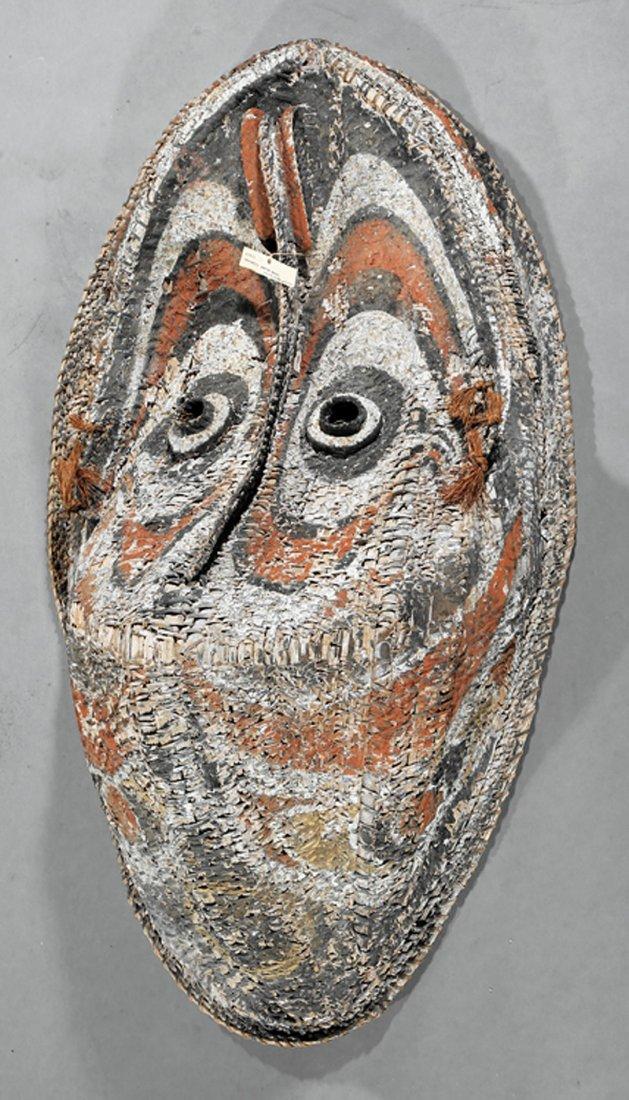 Oceanic Cane Basketry Gable Mask