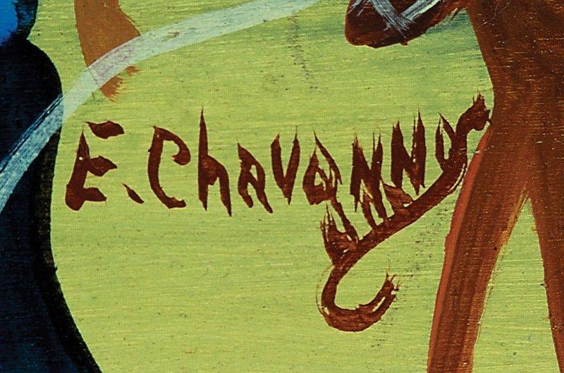 Etienne Chavennes (Haitian, b. 1939) - 2