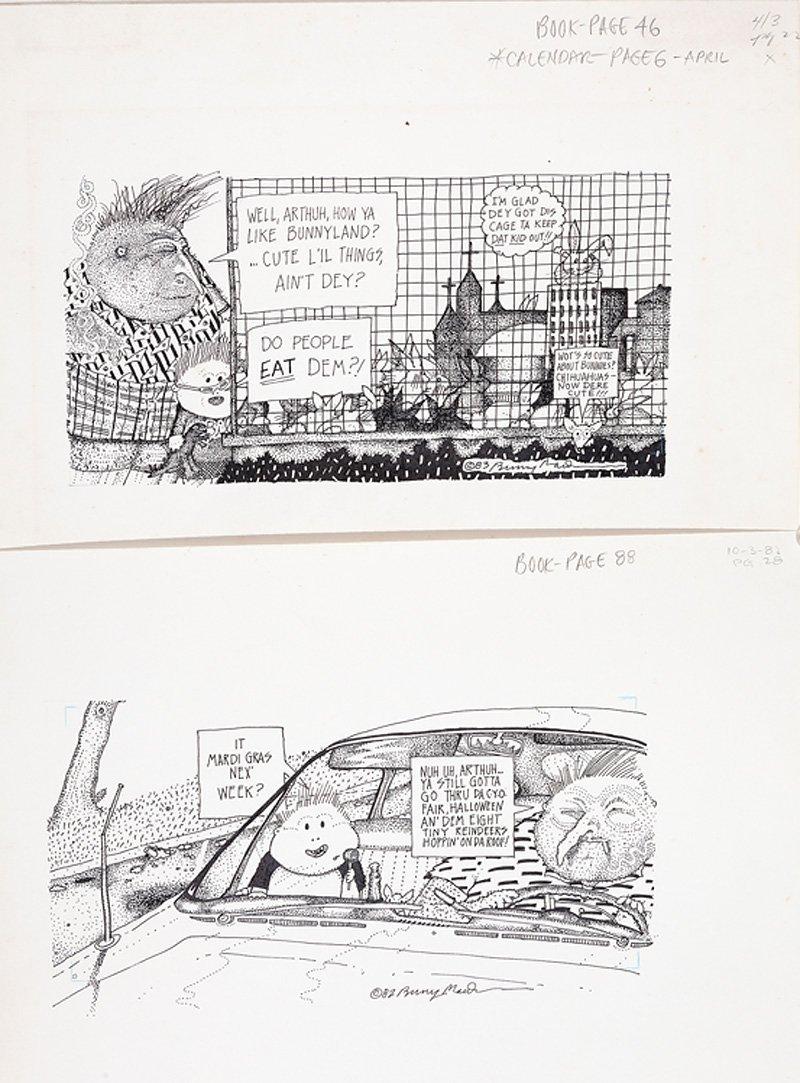 Bunny Matthews (American/New Orleans, 20th c.) - 4