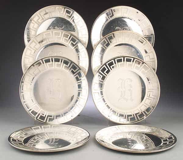 0015: Set of Twelve American Sterling Silver Service Pl