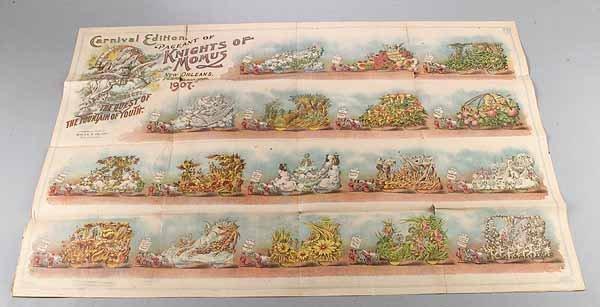 0574: New Orleans Carnvial Parade Bulletin, Momus, Febr