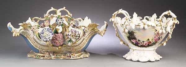 0583: Vieux Paris Porcelain Polychrome and Gilt-Decorat