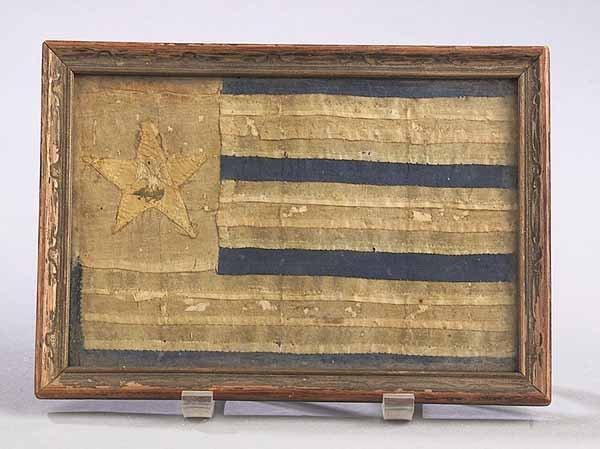 0888: 1861 Louisiana State Secession Flag