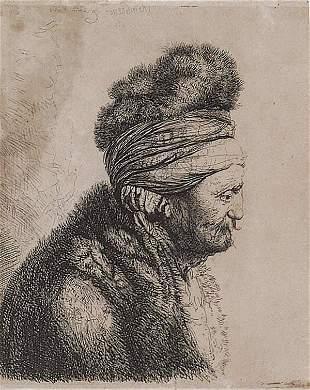 After Rembrandt Harmensz van Rijn (Dut