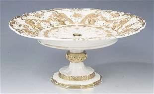 A Meissen Porcelain Compote