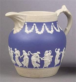 A Copeland Ceramic Pitcher