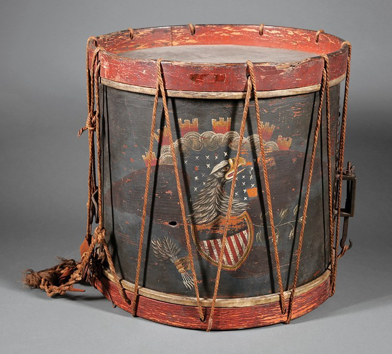 Important Jordan Noble Infantry Snare Drum