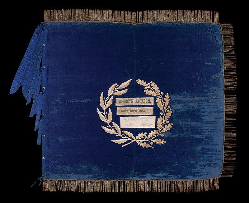 Andrew Jackson Flag Battle of New Orleans