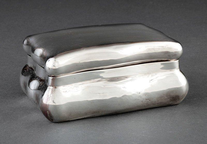 Buccellati Sterling Silver Dresser Box
