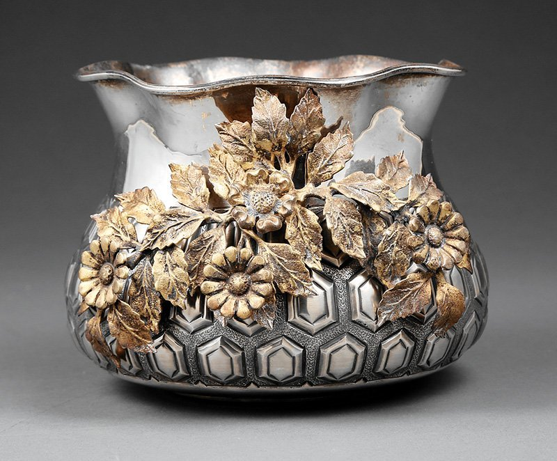 Continental .900 Silver Vase