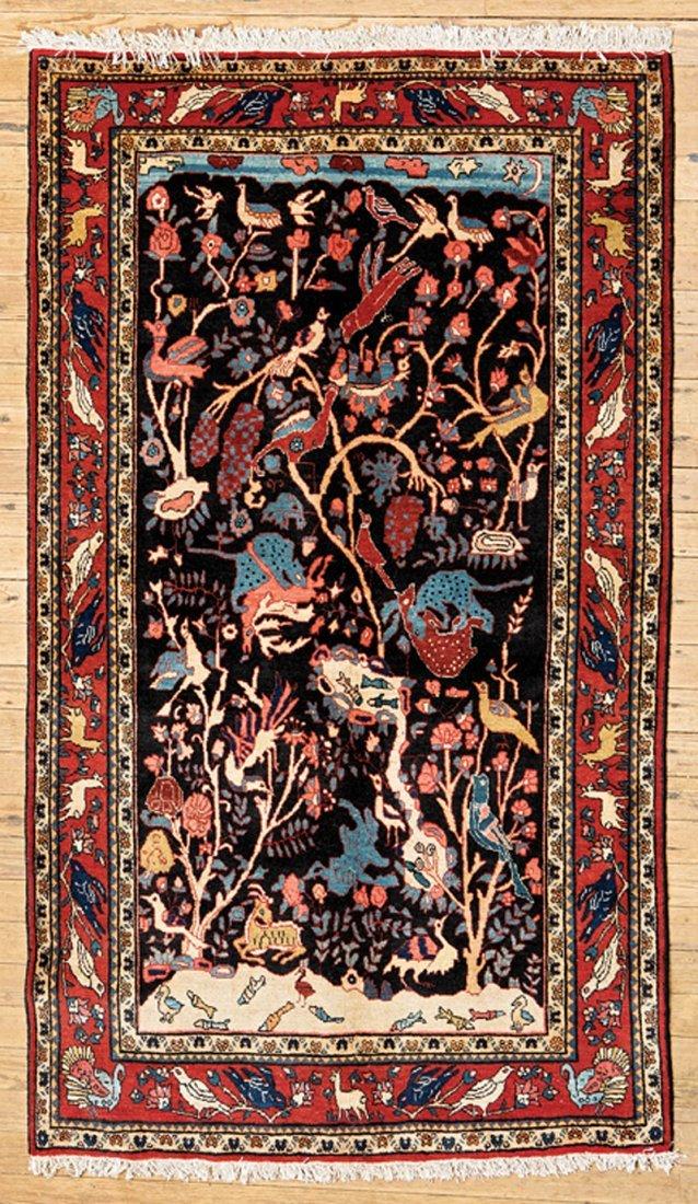 Pictorial Kashan Carpet