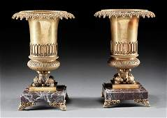 Pair of Charles XStyle Garniture Urns