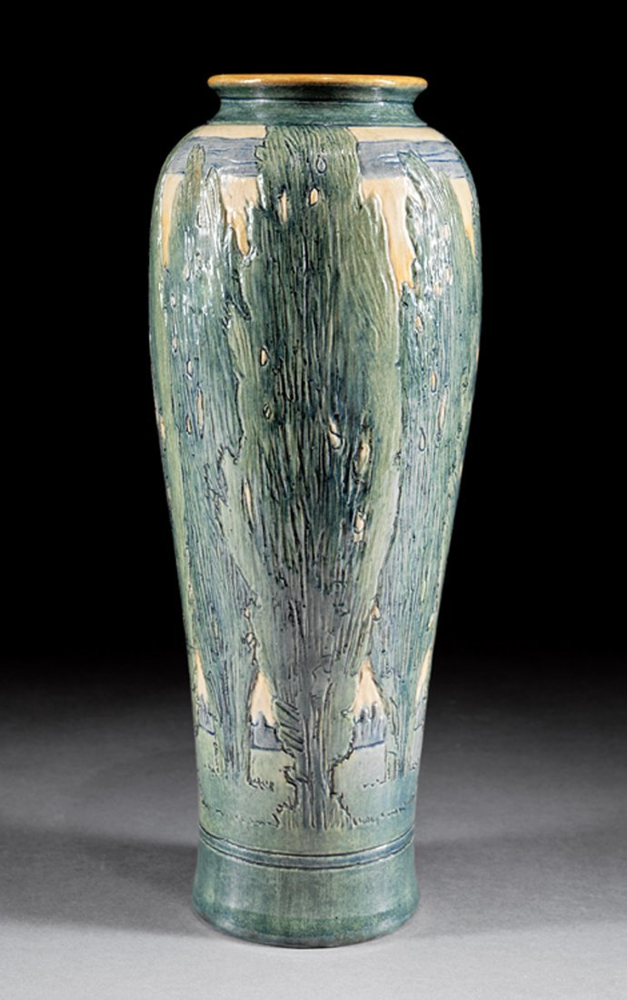 Newcomb College Art Pottery Vase - 2