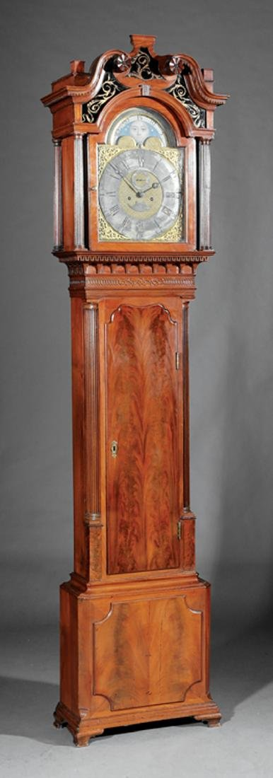 Mahogany Tall Case Clock, Joseph Finney