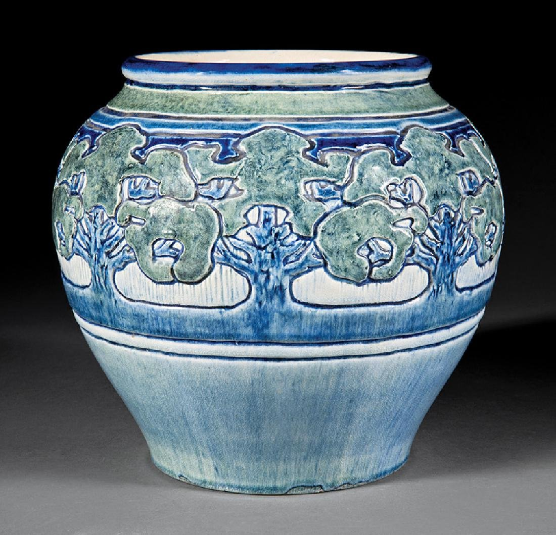 Newcomb College Art Pottery High Glaze Jardiniere