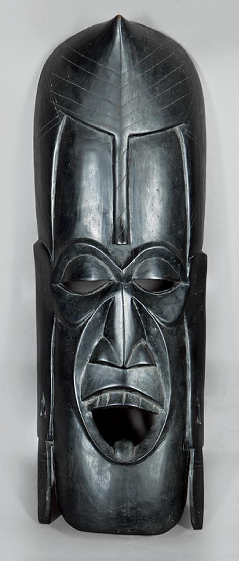 Indonesian Carved Wood Ceremonial Batak Mask