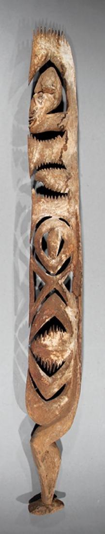 Oceanic Painted and Carved Wood Kamanggabi Figure